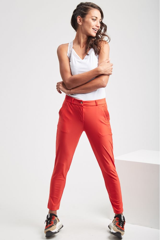 ESSENTIELS - CHRISTINA pantalon Corail