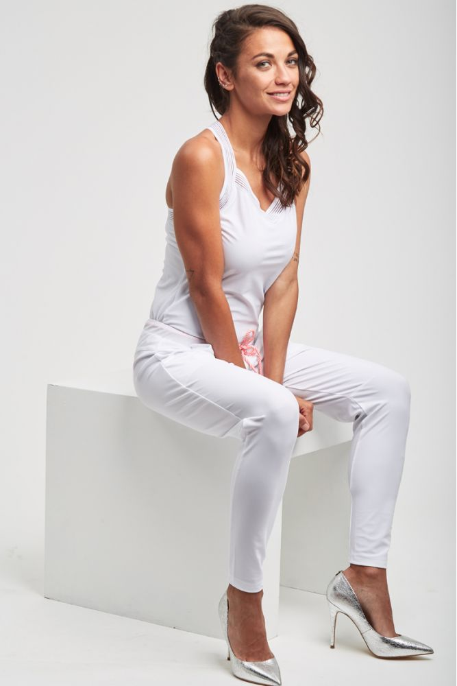 ESSENTIELS - CRUZ pantalon Blanc